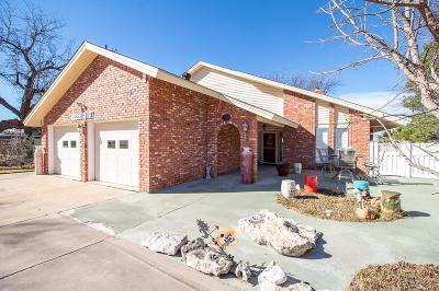 San Angelo Single Family Home For Sale: 2222 Joy Rd