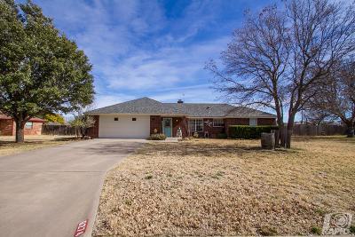 San Angelo TX Single Family Home For Sale: $235,000