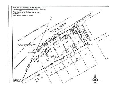San Angelo Residential Lots & Land For Sale: Glenna Dr