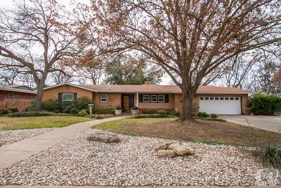 Single Family Home For Sale: 2635 Circle J St