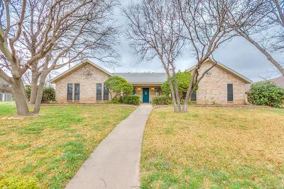 San Angelo Single Family Home For Sale: 3222 Grandview Dr