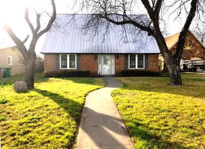 San Angelo Single Family Home For Sale: 505 S Monroe St
