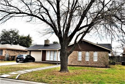 San Angelo TX Single Family Home For Sale: $124,900