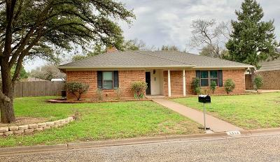 Single Family Home For Sale: 3313 Briargrove Lane