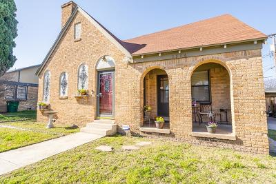 San Angelo Single Family Home For Sale: 1516 W Harris Ave