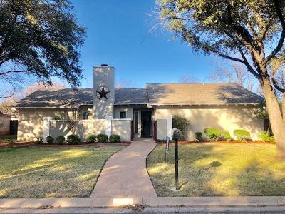 San Angelo Single Family Home For Sale: 3618 Fieldwood Dr
