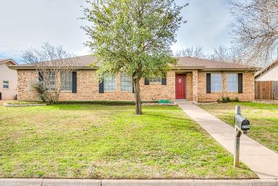 San Angelo Single Family Home For Sale: 3325 Timber Ridge Dr