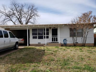 San Angelo Single Family Home For Sale: 3106 Guadalupe St