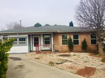 San Angelo TX Single Family Home For Sale: $97,000
