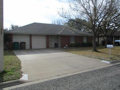 San Angelo TX Single Family Home For Sale: $169,999