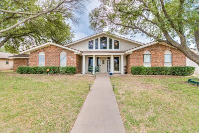 San Angelo TX Single Family Home For Sale: $224,900