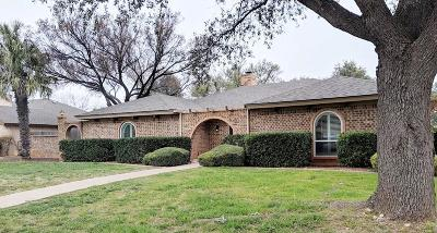 San Angelo Single Family Home For Sale: 3302 Briargrove Lane