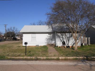 Ballinger Single Family Home For Sale: 406 Sharp Ave