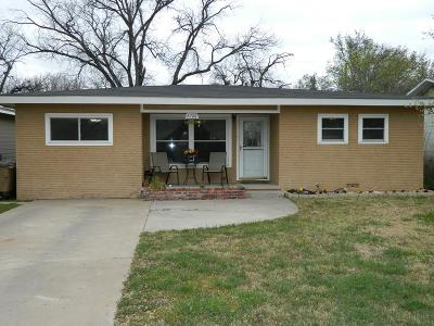San Angelo Single Family Home For Sale: 2706 Rio Grande St