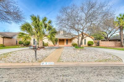 San Angelo Single Family Home For Sale: 3306 Briargrove Lane