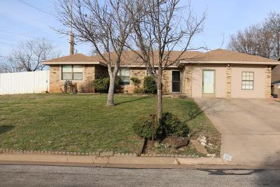 San Angelo Single Family Home For Sale: 201 Amistad Rd
