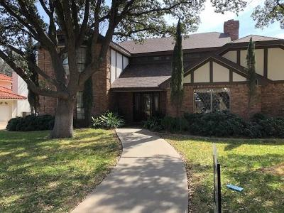 San Angelo Single Family Home For Sale: 5218 Beverly Dr