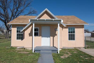 San Angelo Single Family Home For Sale: 1702 N Oakes St