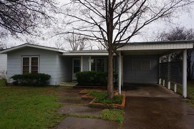 San Angelo Single Family Home For Sale: 2645 W Harris Ave