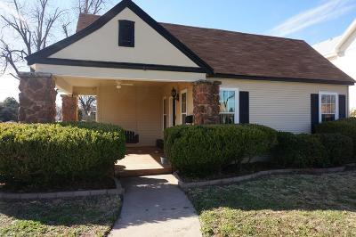 San Angelo Single Family Home For Sale: 1427 S Park St