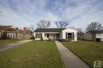 San Angelo Single Family Home For Sale: 2204 W Ave J