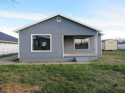 San Angelo TX Single Family Home For Sale: $131,000