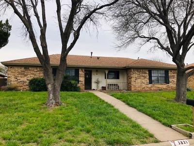 San Angelo TX Single Family Home For Sale: $185,000