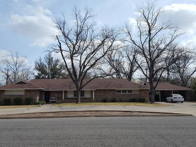 San Angelo Single Family Home For Sale: 2719 Live Oak St