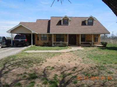 San Angelo Single Family Home For Sale: 5732 Fruitland Farm Rd