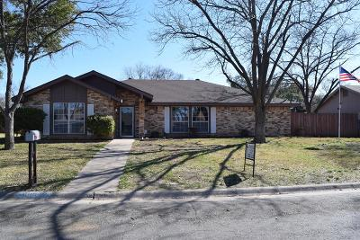 San Angelo Single Family Home For Sale: 3019 Sierra Dr