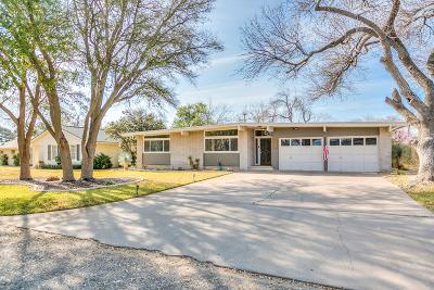 San Angelo Single Family Home For Sale: 2803 Patrick St