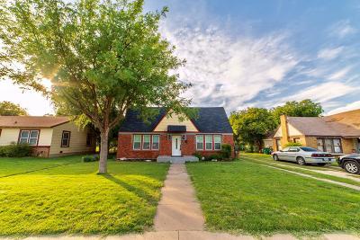 San Angelo Single Family Home For Sale: 2418 Waco St