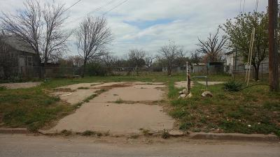 San Angelo Residential Lots & Land For Sale: 2817 Pecan St