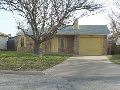 San Angelo, Wall, Christoval Rental For Rent: 3330 Erin St