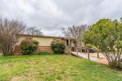 San Angelo Single Family Home For Sale: 1625 Mission Ave