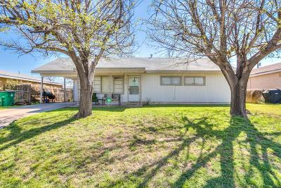 San Angelo Single Family Home For Sale: 1638 Evelyn Ave