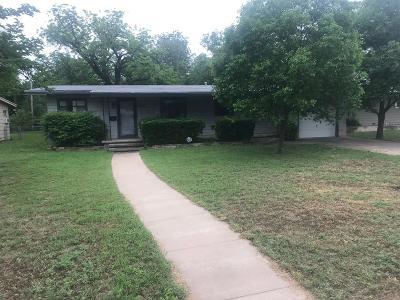 San Angelo, Wall, Christoval Rental For Rent: 2621 Colorado Ave