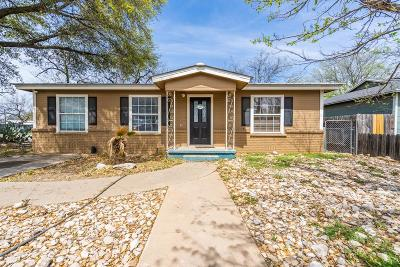 Single Family Home For Sale: 2730 Guadalupe St