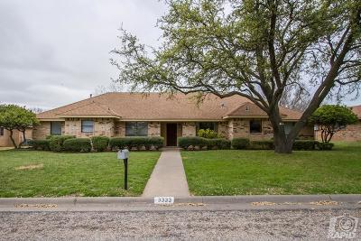 San Angelo Single Family Home For Sale: 3333 Grandview Dr