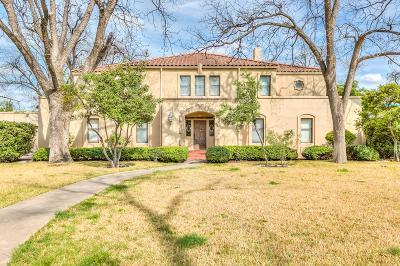 San Angelo Single Family Home For Sale: 1434 Paseo De Vaca St