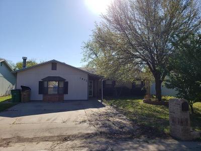 San Angelo Single Family Home For Sale: 1632 Linda Lee Dr