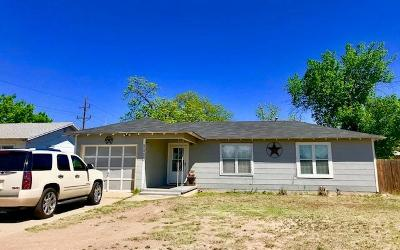 San Angelo TX Single Family Home For Sale: $113,000