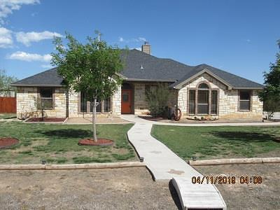 San Angelo Single Family Home For Sale: 3576 Pronghorn Path