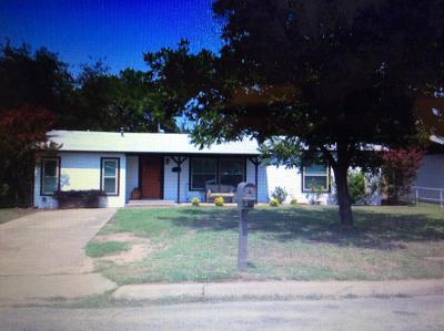 San Angelo Single Family Home For Sale: 318 Penrose St