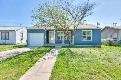San Angelo Single Family Home For Sale: 218 St Johns St