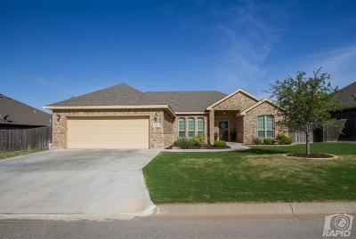 San Angelo Single Family Home For Sale: 6117 Hallye Court