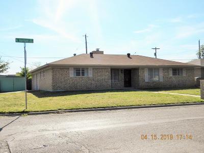 San Angelo Single Family Home For Sale: 1701 N Harrison St