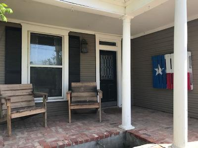 San Angelo TX Single Family Home For Sale: $137,500