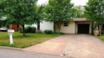 San Angelo Single Family Home For Sale: 2519 Yale Ave