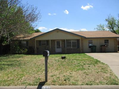 San Angelo Single Family Home For Sale: 1811 Greenwood St